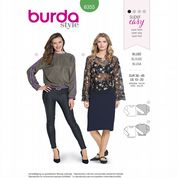 6355 Burda Pattern: Misses' Blouse